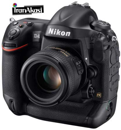 Photo of جدیدترین غول دنیای عکاسی : مشخصات Nikon D4
