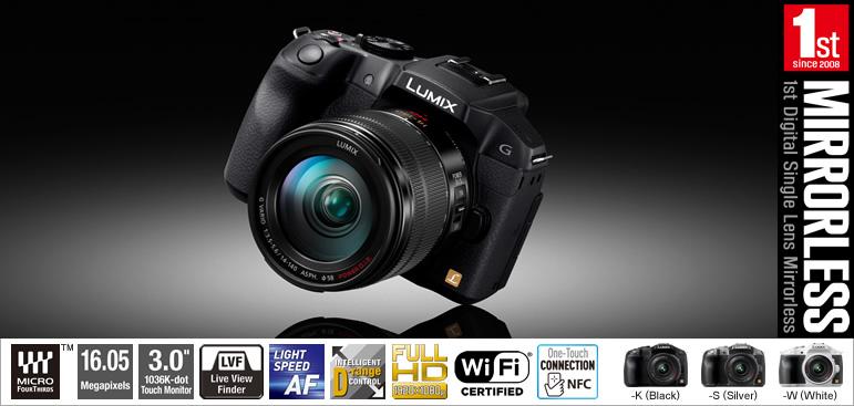 Photo of رونمایی از لومیکس G6 مجهز به وای فای و ان اف سی